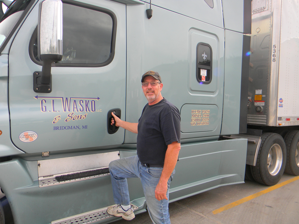 "This veteran driver will tell you, ""...every day is a vacation day for me.  I love my job."""